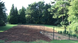 Full Garden Tilled with an Initial Area Planted